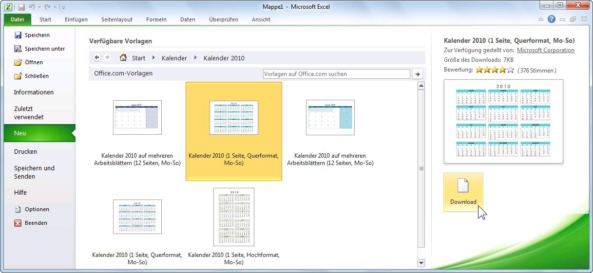 Arbeitsblatt Excel Einführung : Schulungsunterlagen microsoft excel einführung