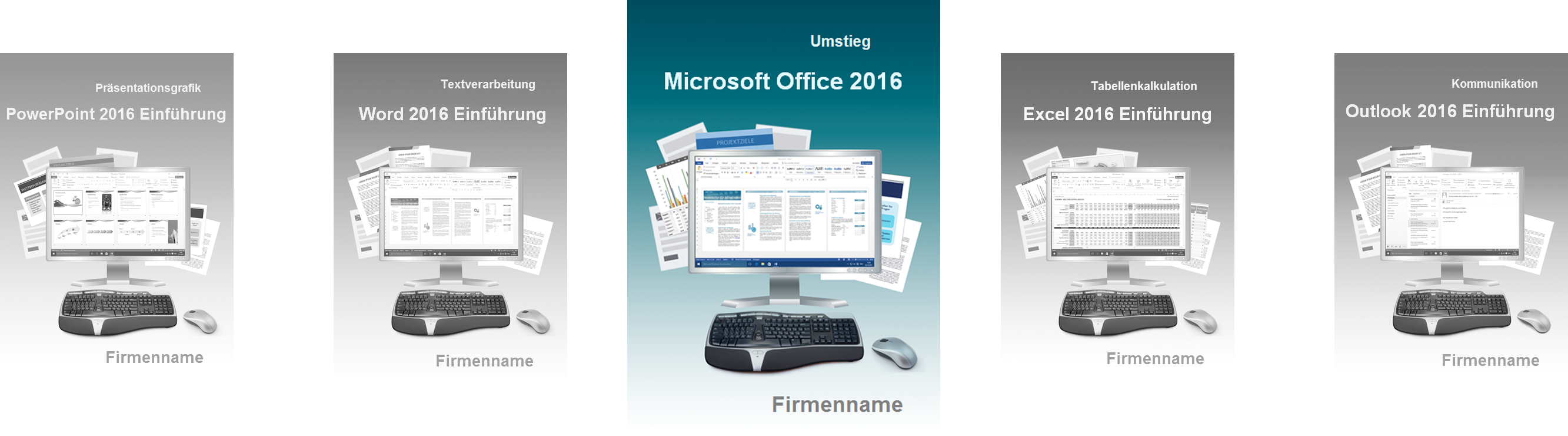 Cover Seminarunterlagen Umstieg Office 2016
