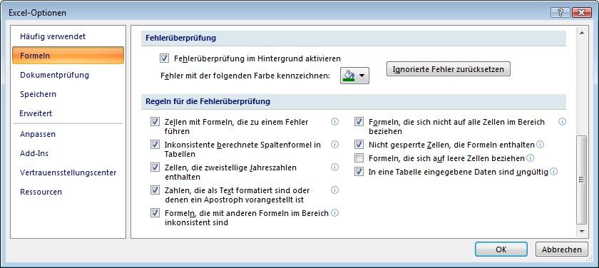 Schulungsunterlagen Microsoft Excel 2007 Weiterführung | Dettmer Verlag