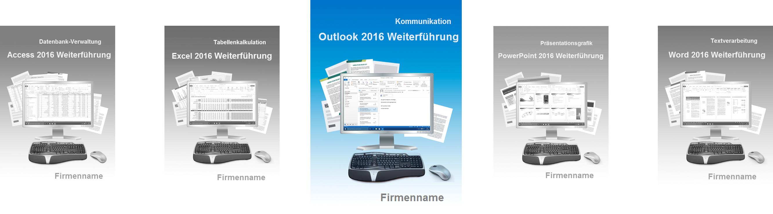Kursunterlagen Slider Outlook 2016 Weiterführung