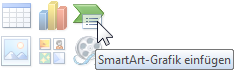 SmartArt Grafik einfügen