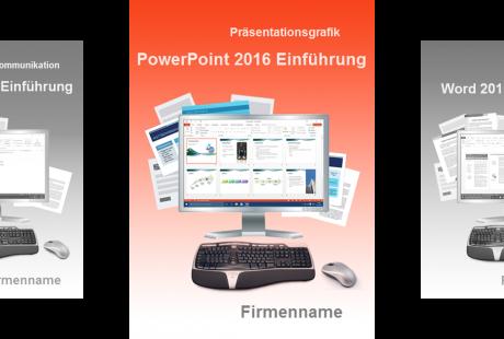 Lehrmaterial PowerPoint 2016 Einführung Cover