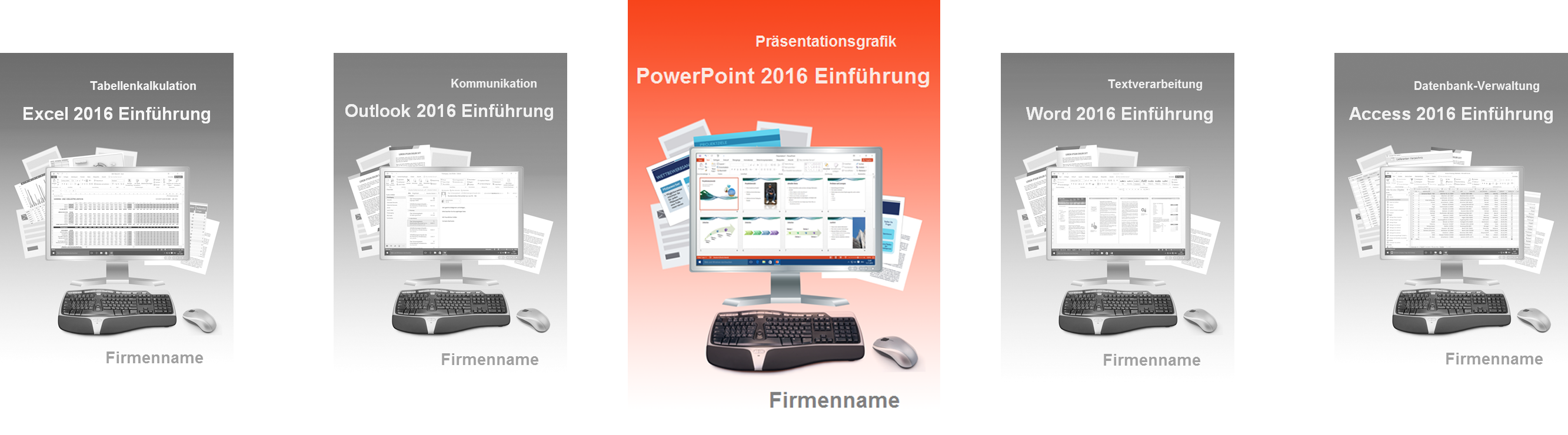 Lehrmaterial PowerPoint 2016 Einführung Cover
