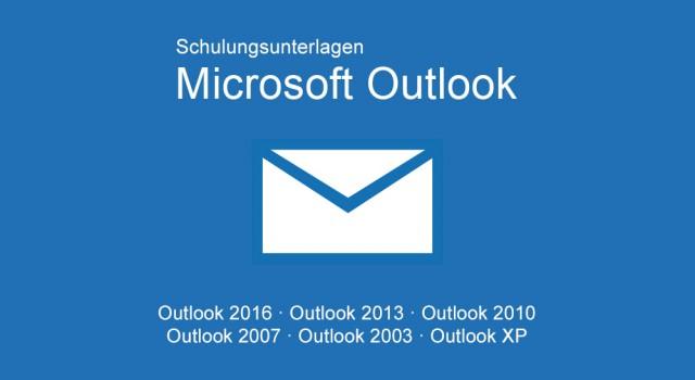 Schulungunterlagen Microsoft Outlook