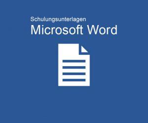 Schulungsunterlagen Microsoft Word