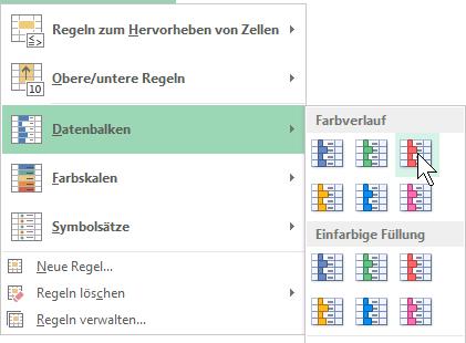 Schulungsunterlage Microsoft Excel 2013 Bedingte Formatierung
