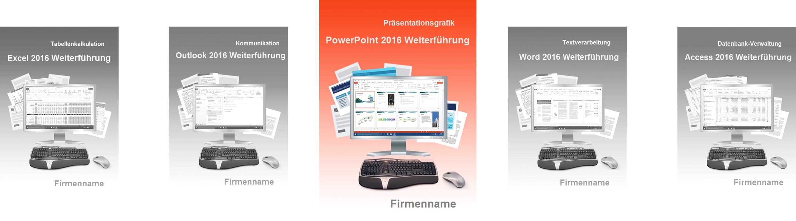 Schulungsunterlage PowerPoint 2016 Weiterführung Slideshow