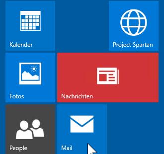 Schulungsunterlagen Windows 10 Kachel verschieben