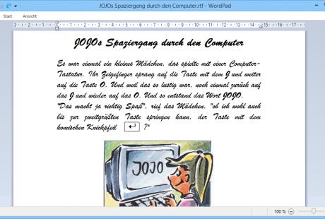 Schulungsunterlagen-Windows 8 PC Grundlagen Windows Bildschirm