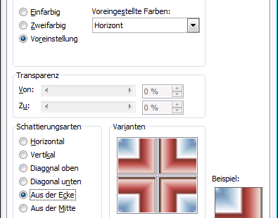 Word 2010 Fülleffekte