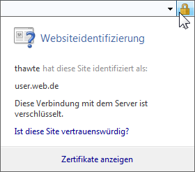 Internet Explorer 8 Sicherheitsinformationen