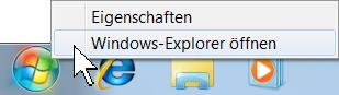 Internet Explorer 9 Kontextmenü