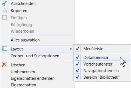 Windows 7 Internet-Explorer 9 Layout