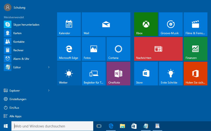 Windows 10 Startmen 252 Dettmer Verlag