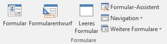 Registergruppe Formulare