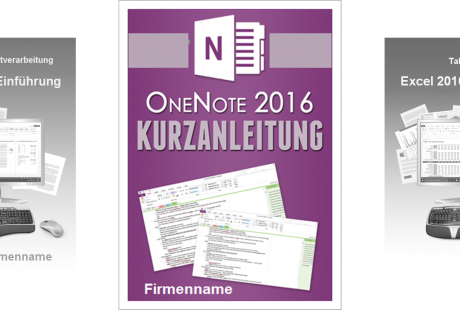 schulungsunterlagen onenote 2016 cover