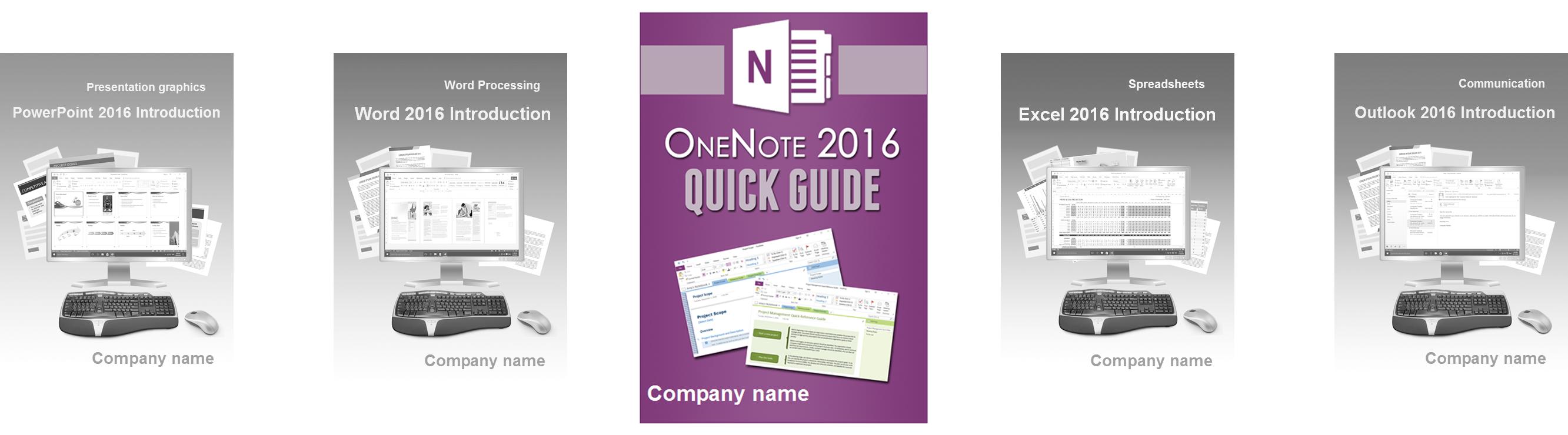 OneNote 2016 Grundlagen Englisch
