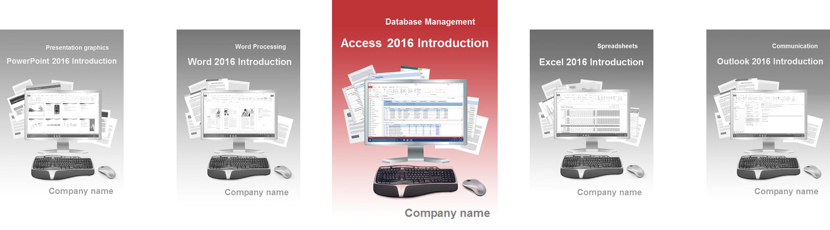 Access 2016 Grundlagen Englisch