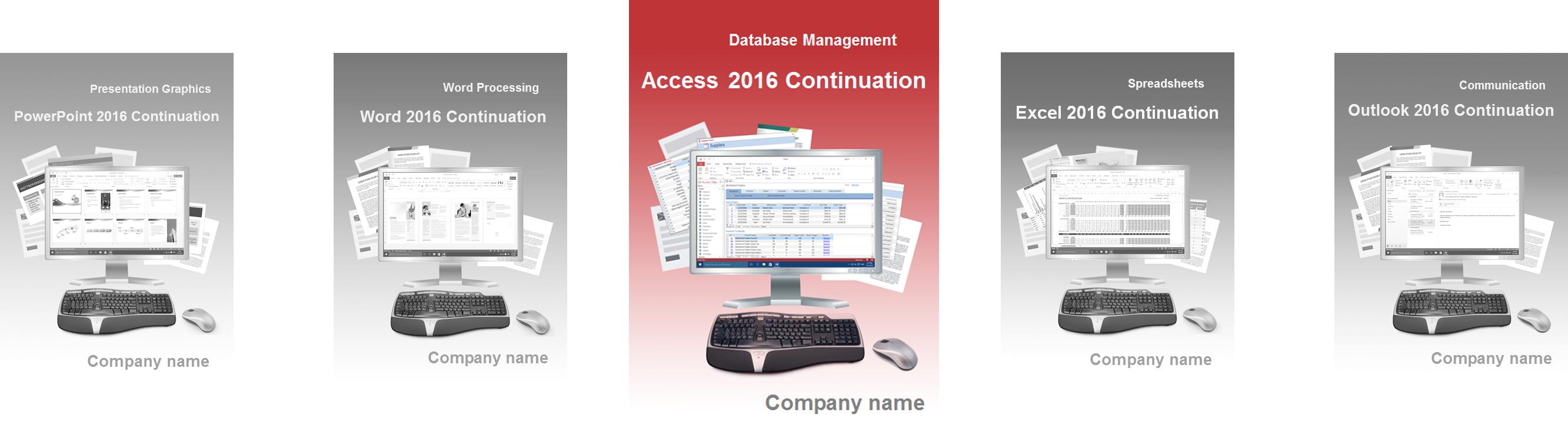 Access 2016 Fortgeschritten Englisch
