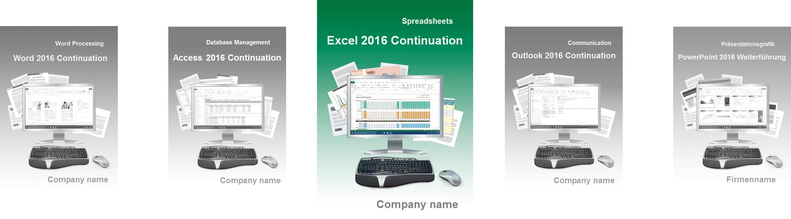 Excel 2016 Fortgeschritten Englisch