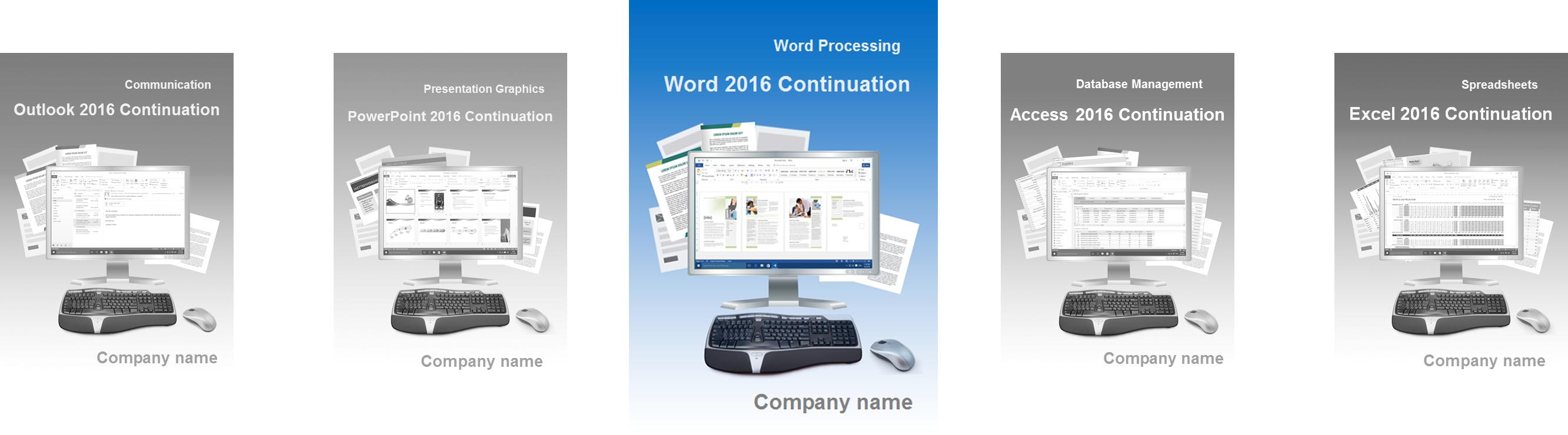 Word 2016 Weiter englisch Slider